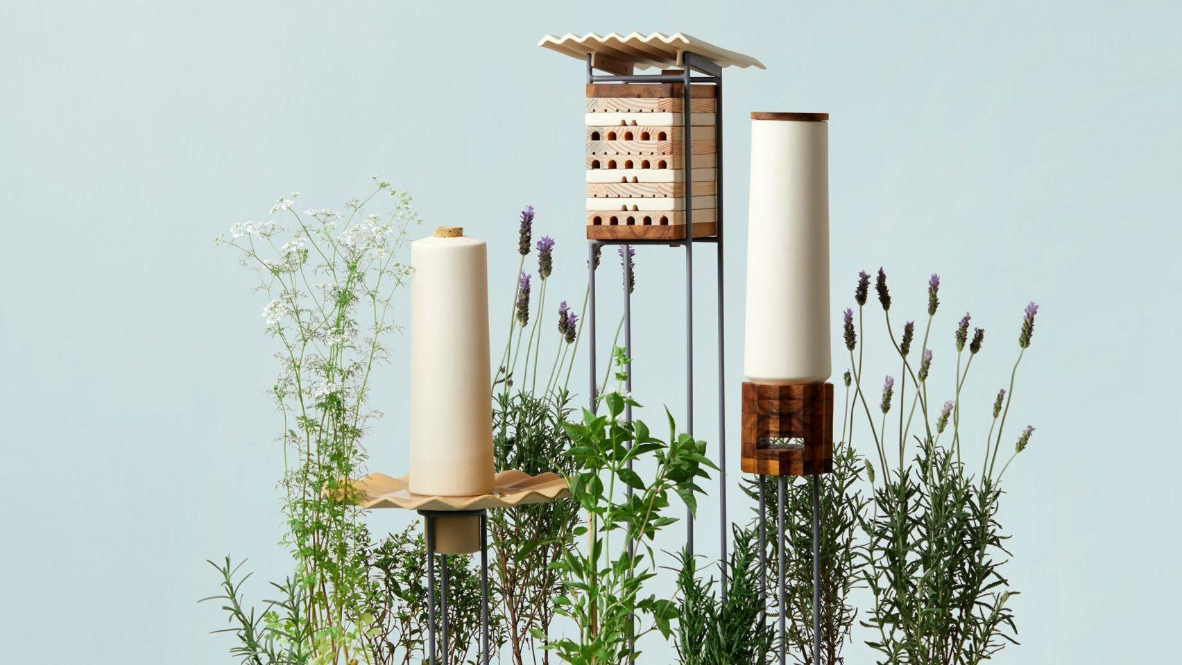 Shelters for city-dwelling bees