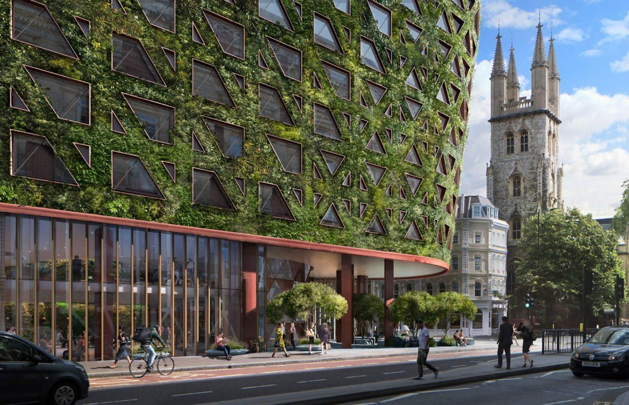 Europe's largest green wall