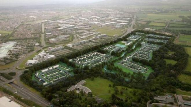 First phase of Edinburgh's Garden District approved