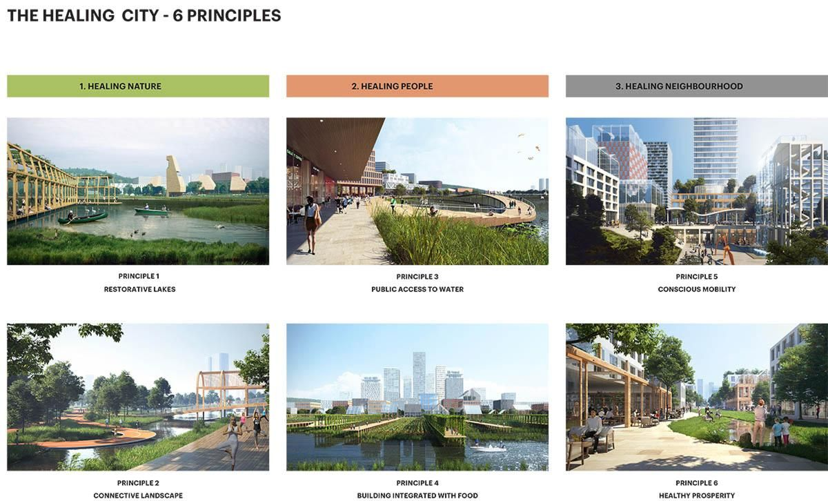 """ADEPT proposes """"The Healing City"""" for a future city in Yanzihu"""
