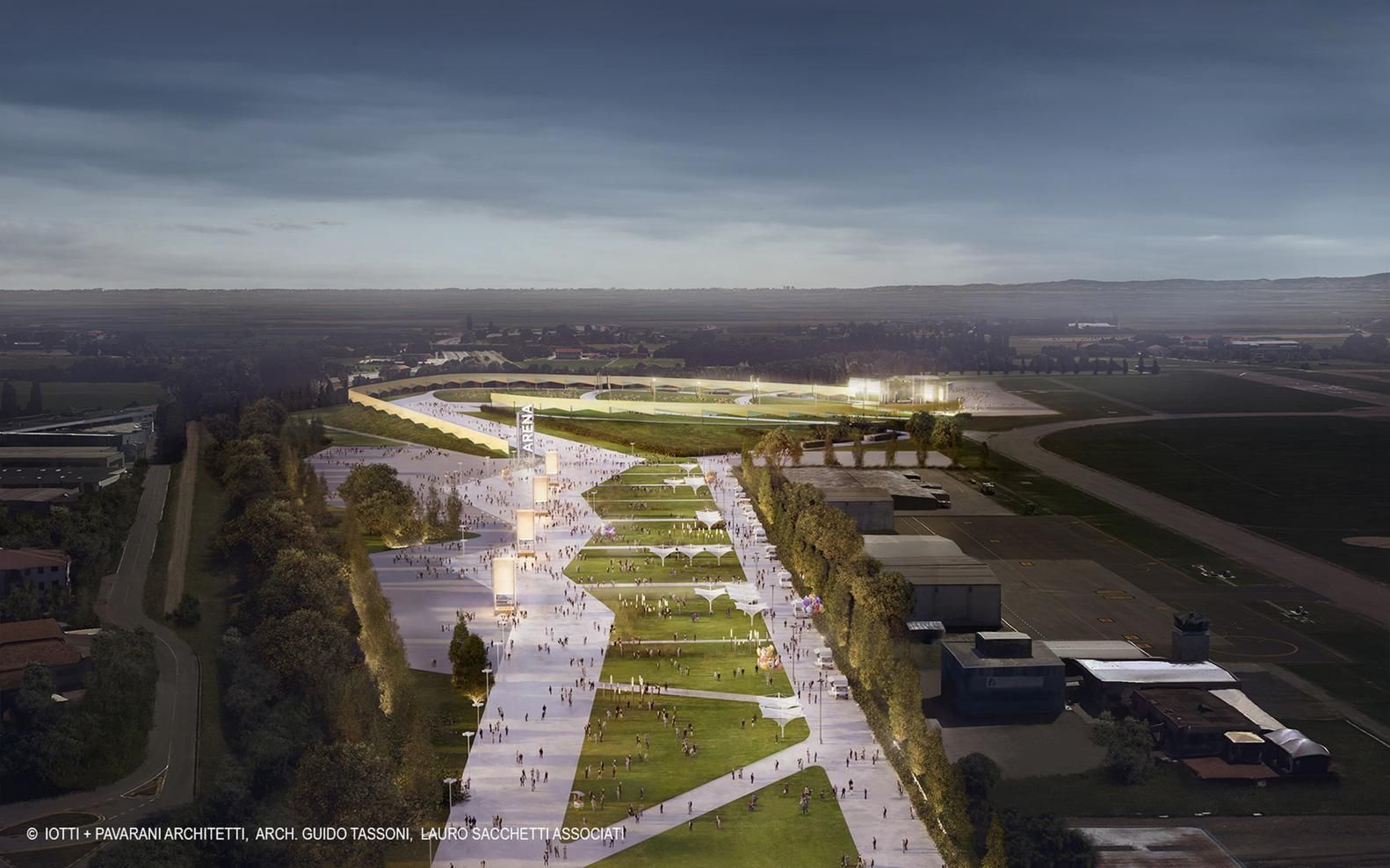 The Largest Open-Air Venue for Events and Concerts in Europe is Under Construction in Italy