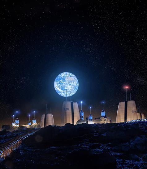 Lunar Life: Planning Underway for a MoonVillage
