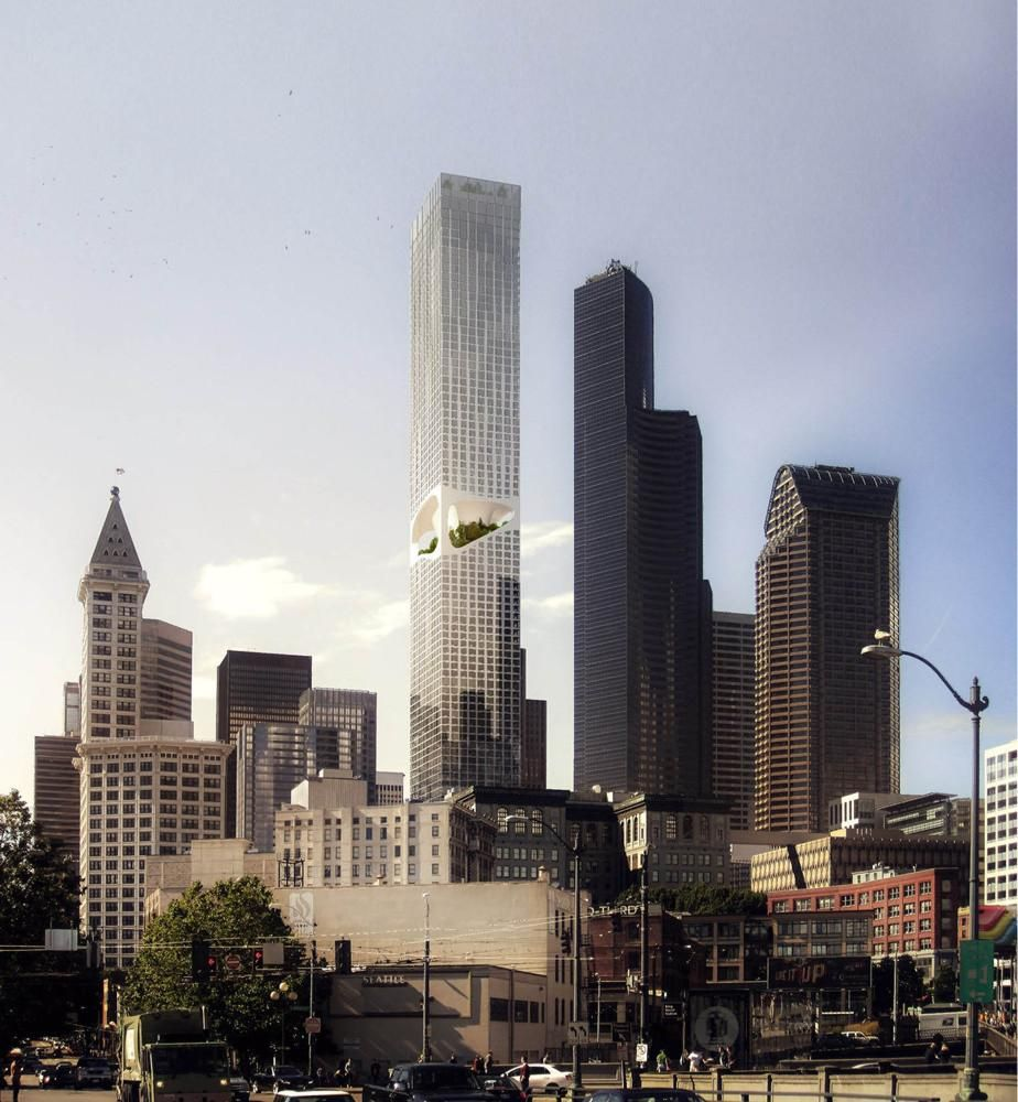 ODA Introduces New Approach to Tower Building in Seattle