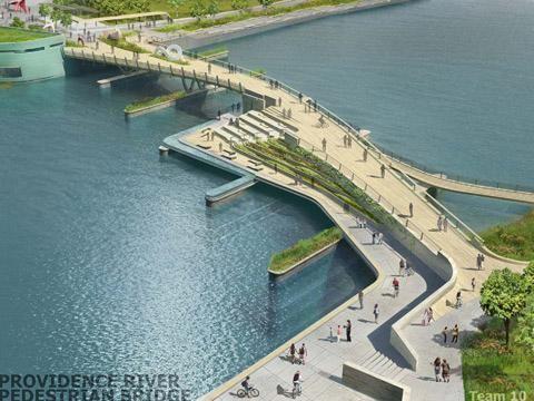 inFORM studio & Buro Happold win Providence River Pedestrian Bridge Design Competition