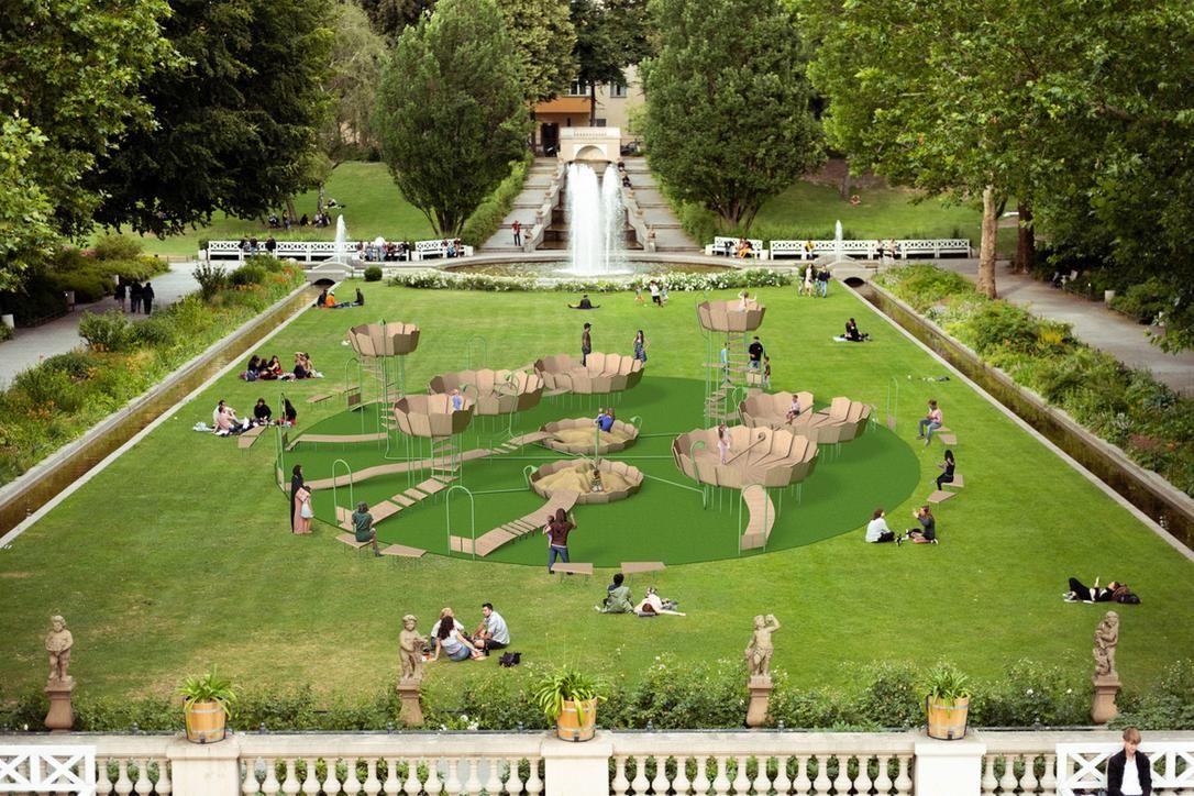 German designers develop anti-COVID playground