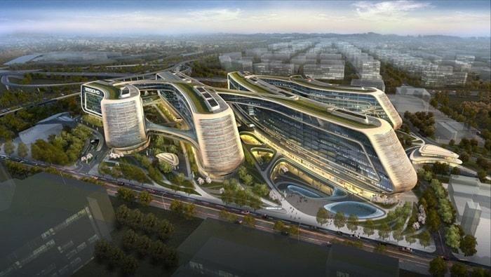 Zaha Hadid Architects aims for Greenest building in Shanghai
