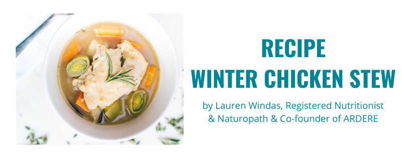 RECIPE: Winter Chicken Stew