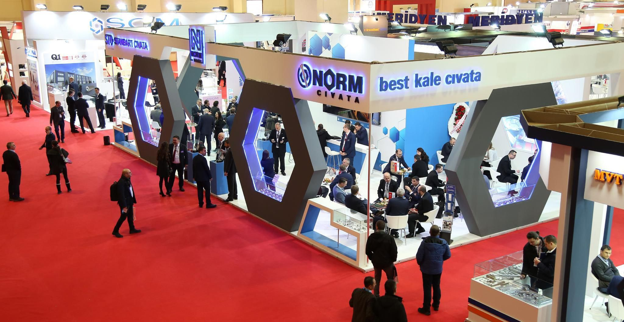 Fastener Fair Turkey is the showcase event for fastener and fixing technology. This trade event brings together producers, wholesalers & reseller distributors and end-users of fastener systems, as well as companies specialising in fastener manufacturing equipment and materials.