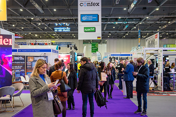 International Confex: Live events in demand