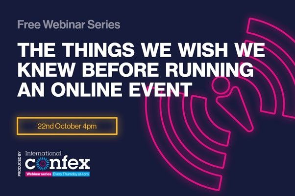 The things we wish we knew before running an online event