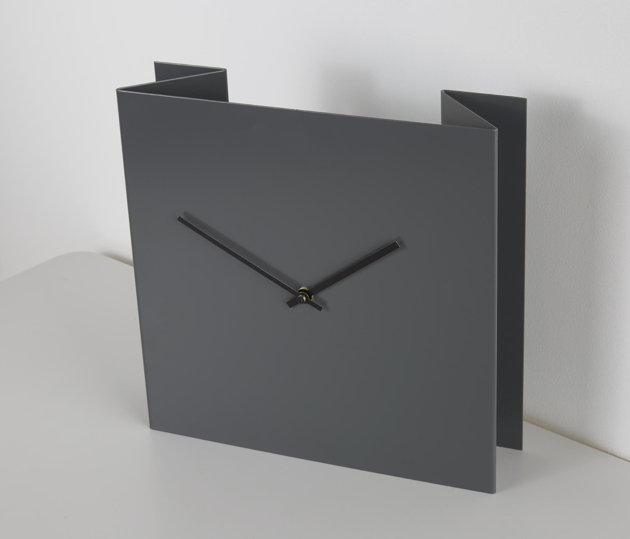 Fold Clock Grey Clock