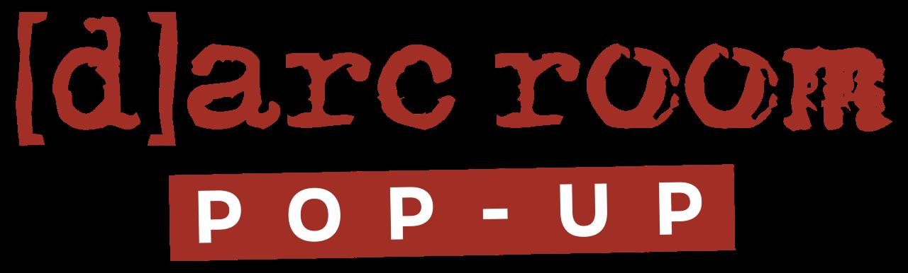 darc room pop-up logo