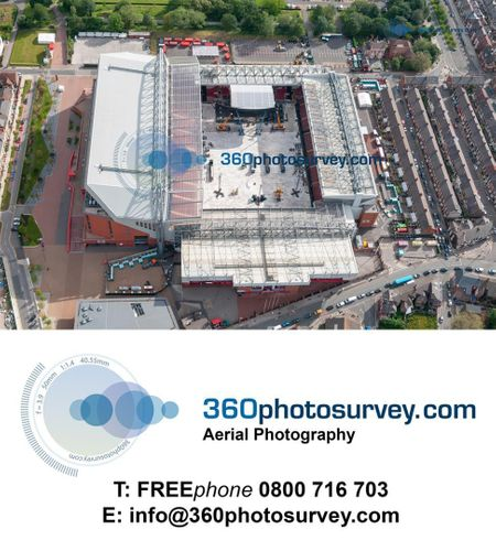 Aerial photographer to the Construction Industry