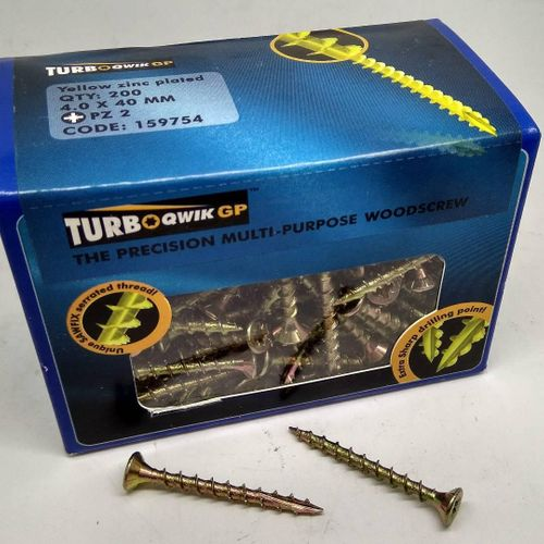 Turboqwik Multipurpose Screw