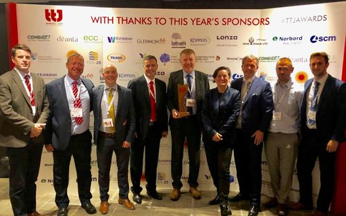 Glennon Brothers Win 'Softwood Trader of the Year' at Prestigious TTJ Awards.