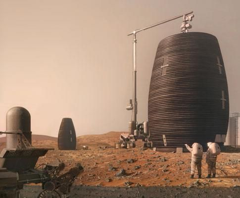 AI SpaceFactory Builds 3D Printed Mars Prototype for NASA | Construction Buzz #203