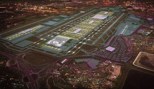 Heathrow expansion a vote for construction