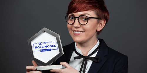 Role model of the year announced at UK Construction Week