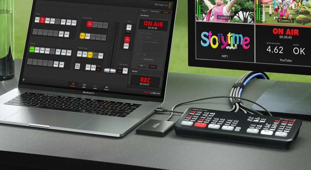 Blackmagic Design Announces New Atem Mini Pro The Media Production Technology Show 2020 Bringing Content Creation To Life