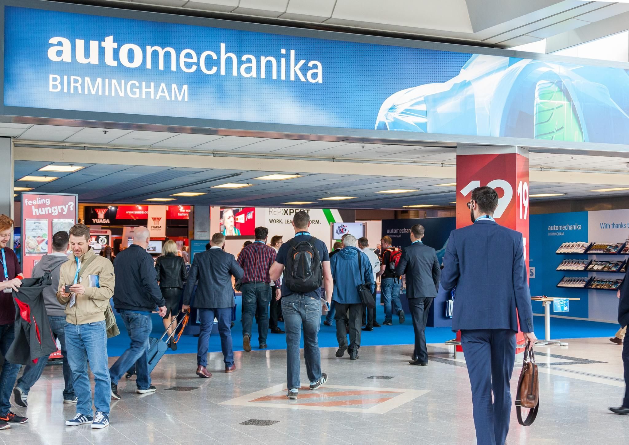 visitor entrance automechanika