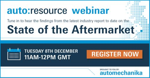 Automotive aftermarket to be provided with industry insight in latest webinar