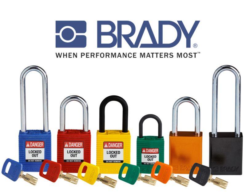 Brady: Highly innovative SafeKey Lockout Padlocks