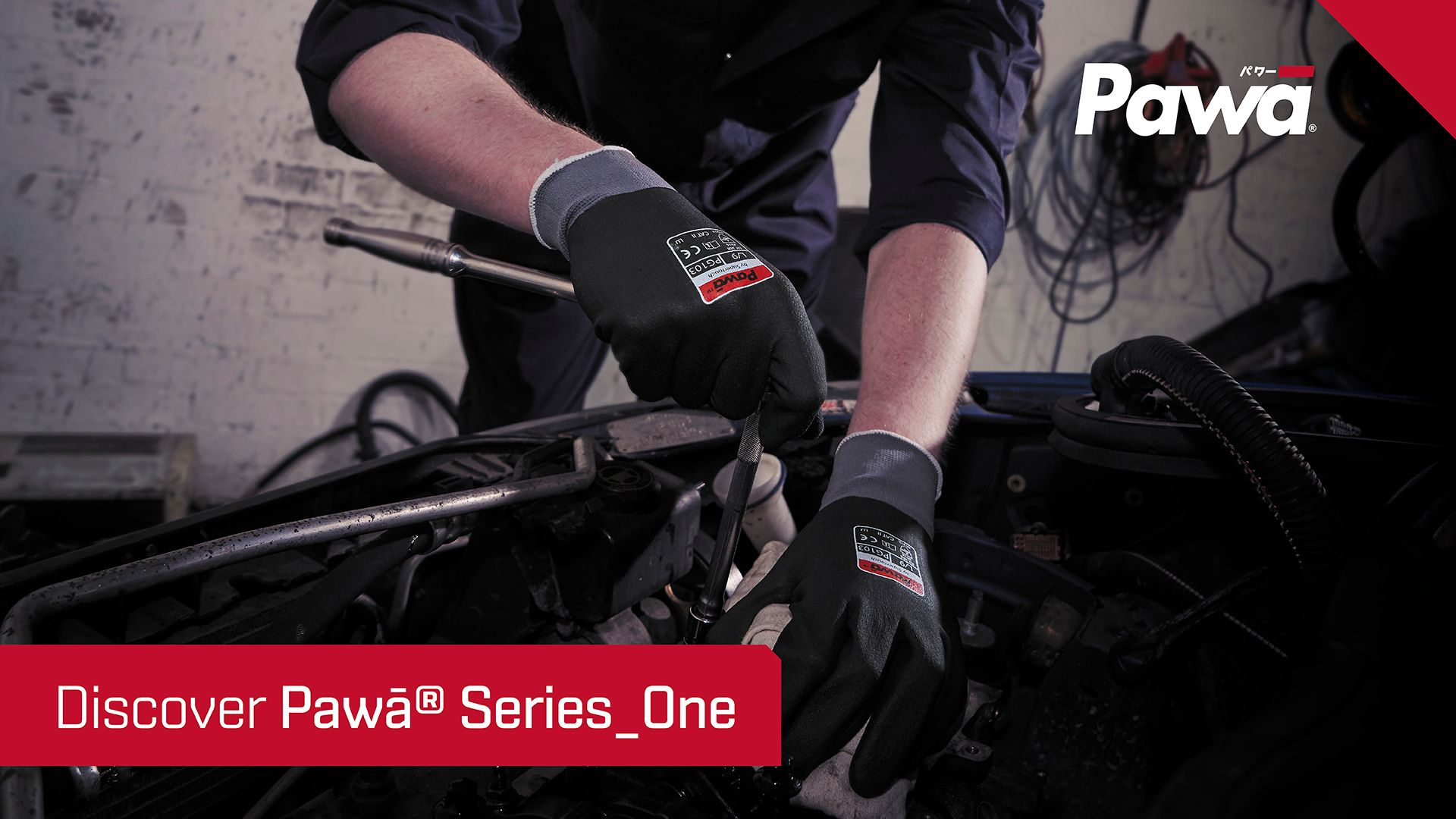 Pawā® Series One Breathable & Dexterous Gloves
