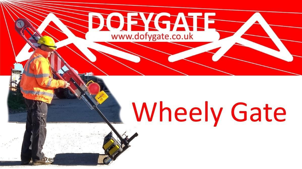 Wheelygate - from van to working barrier in 3 minutes