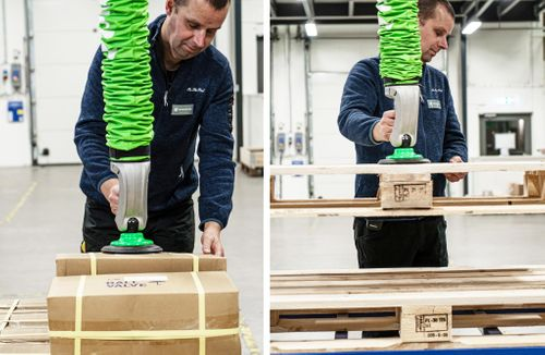 piLIFT®SMART is helping Armatec's employees to lift 1-2 tons each day – without hurting their backs!