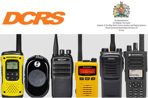 Communicate safely and effectively with DCRS two-way radios