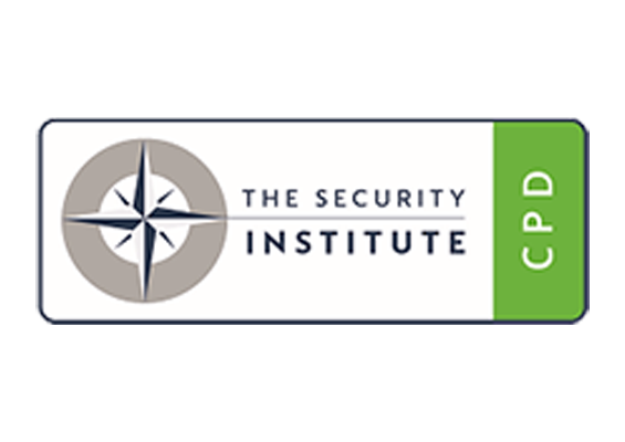 CPD certified by The Security Institute