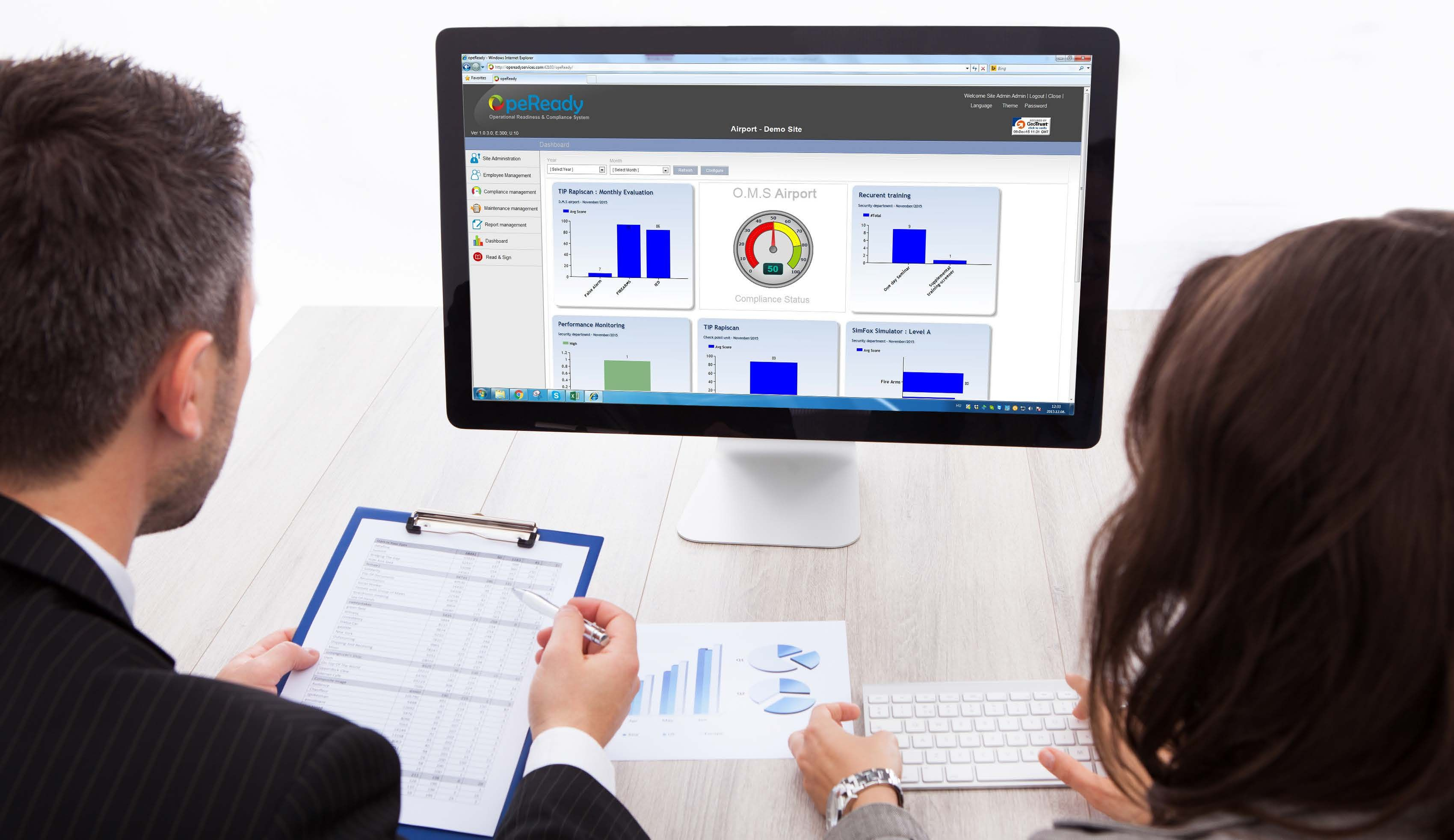 OpeReady - Compliance Management System