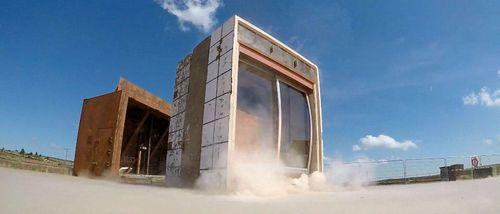 Blast Enhanced Sliding Doors
