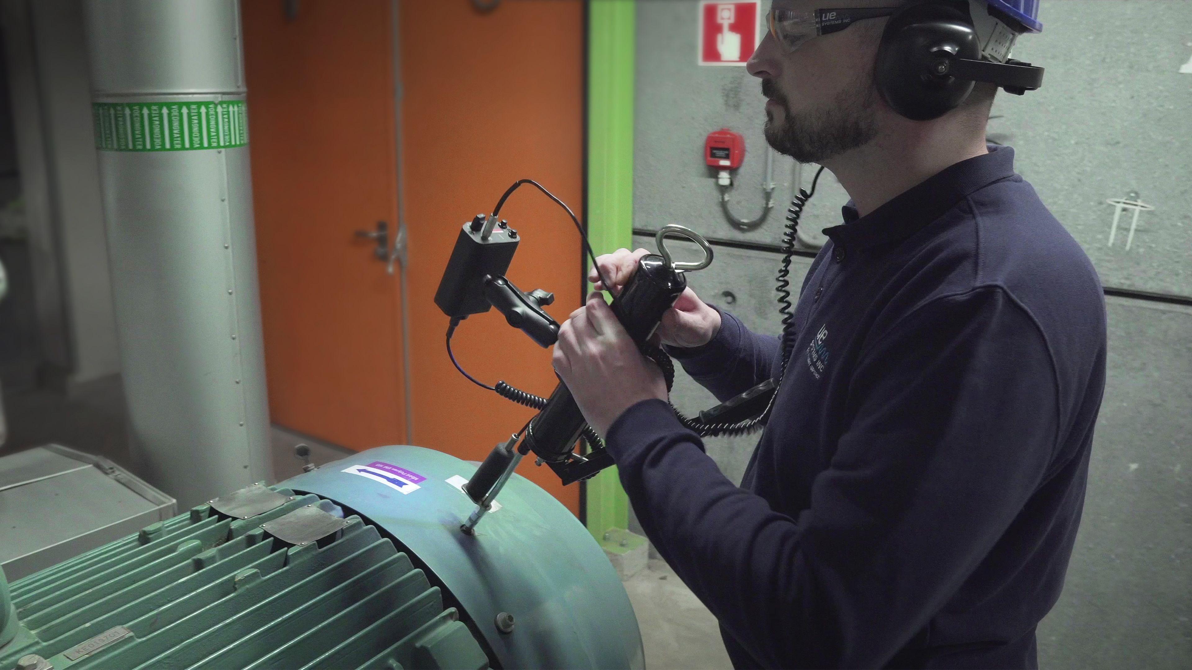 Bearing Lubrication Monitoring Using Ultrasound