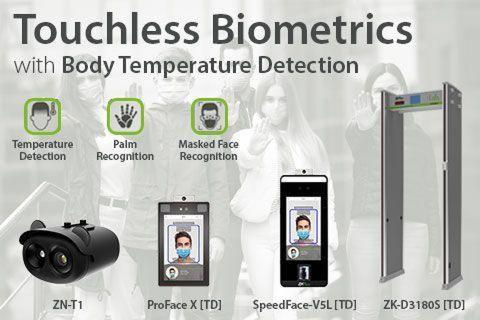 ZKTeco's Touchless Biometrics with Body Temperature Detection
