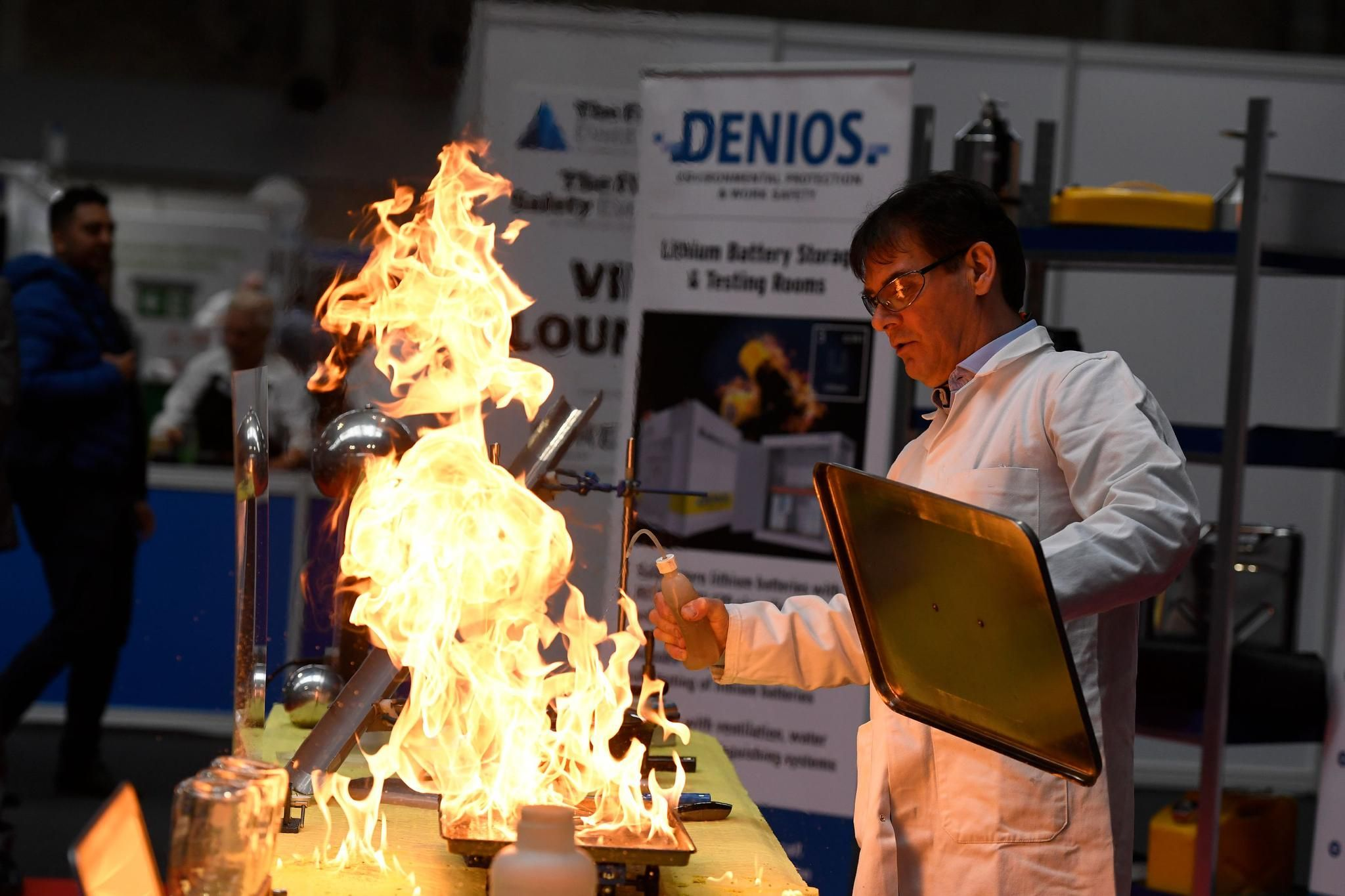 The UK's LARGEST and FASTEST growing exhibition for fire safety