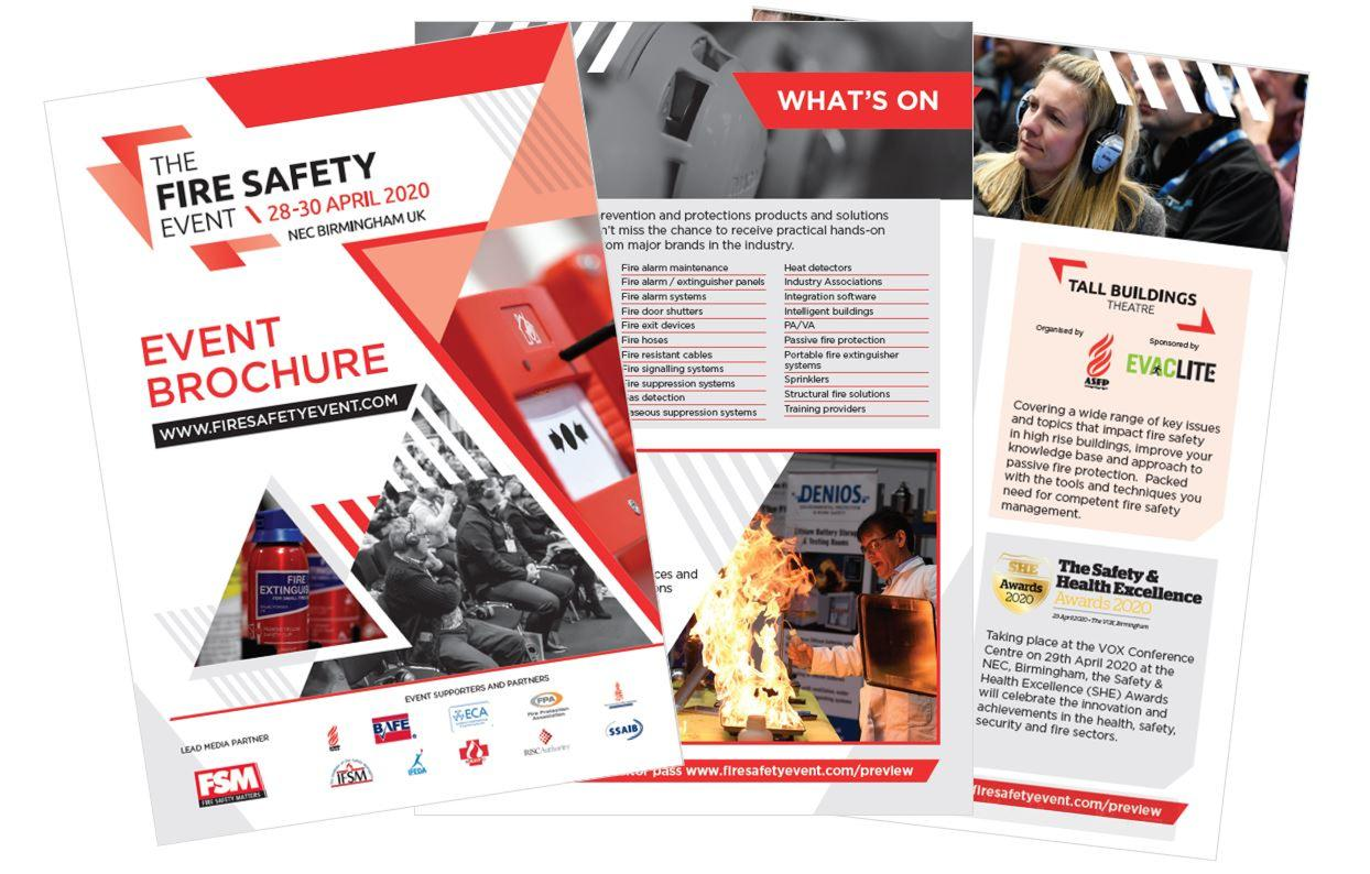 The Fire Safety Event brochure