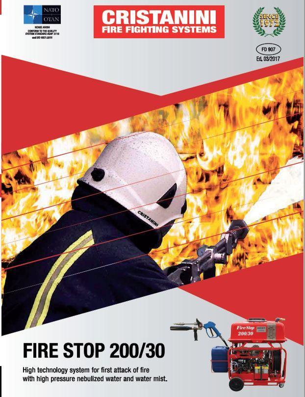FIRESTOP - FIRST ATTACK FIRE ESTINGUISHER SYSTEM