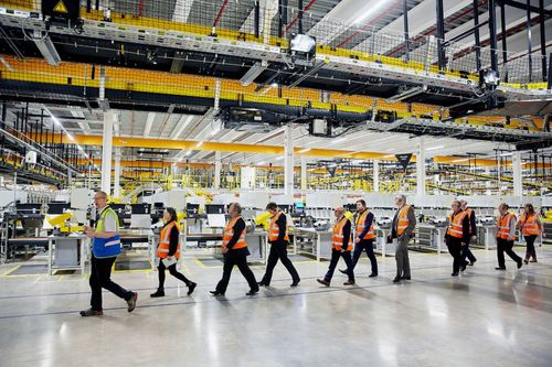 Vimpex's Smart+Guard Installed at huge new Amazon fulfilment centre
