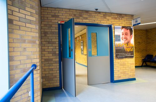 Hospital Installs Yeoman Shield to Help Maintain Fire Doors
