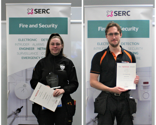 NITTAN SPONSORS 'FIRE ENGINEERING APPRENTICE OF THE YEAR' FOR FIVE YEARS