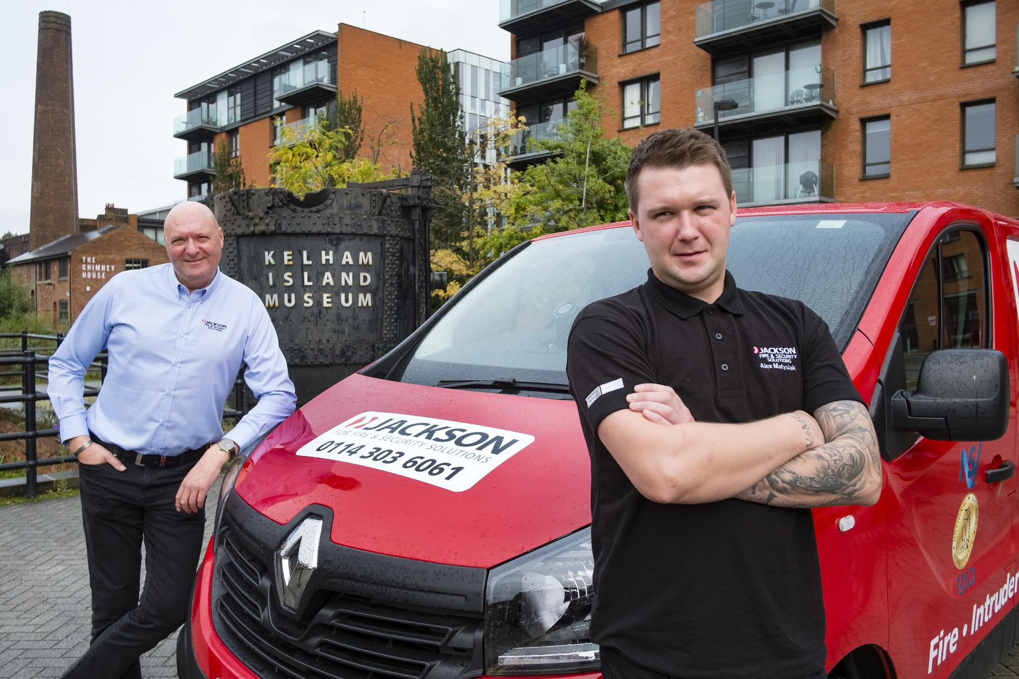 Former firefighter and son team up to lead fire & safety firm's Yorkshire expansion
