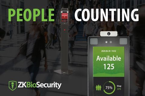 People Counting Solution | ZKTeco Europe