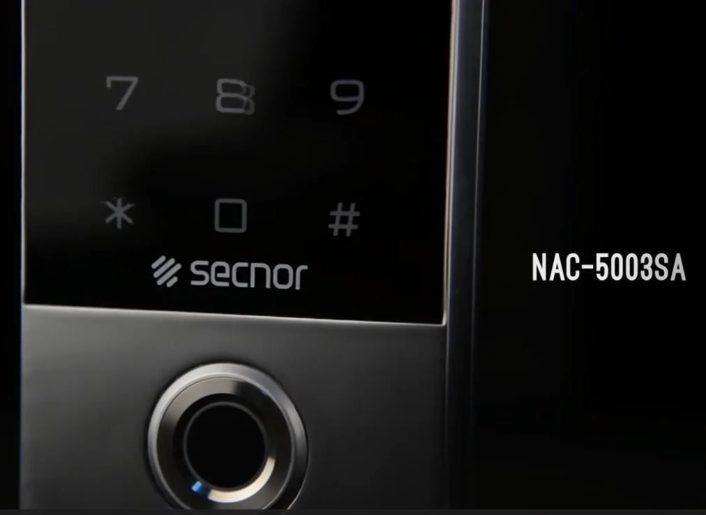 Secnor NAC-5003SA Biometric Access Control Fingerprint, Keypad And Multi-Format Proximity Card Reader