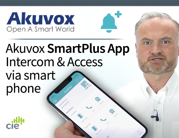 Akuvox SmartPlus App - intercom and access from your smartphone