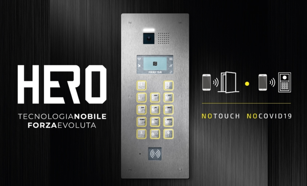 Discover Hero, the vandal proof entry panel