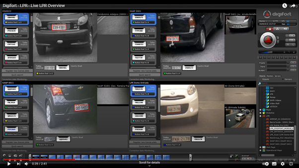 VMS1000 License Plate Recognition