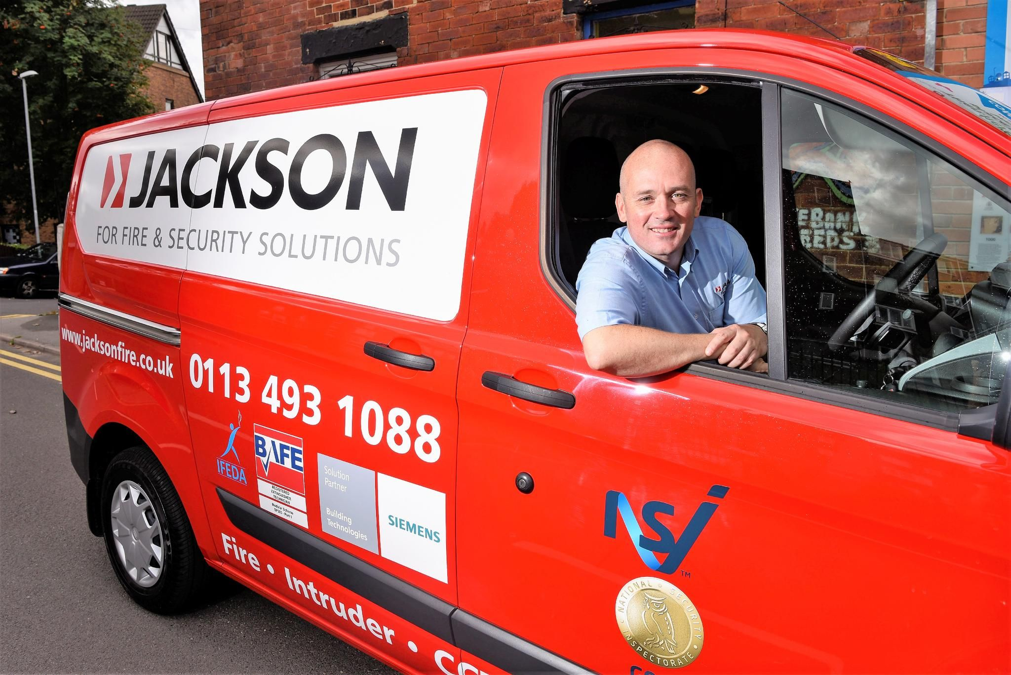 Jackson Fire & Security Leeds Franchisee Testimonial