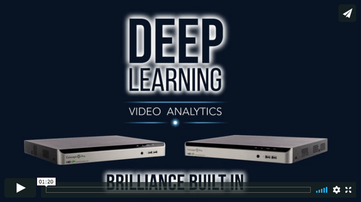 Deep Learning Video Analytics
