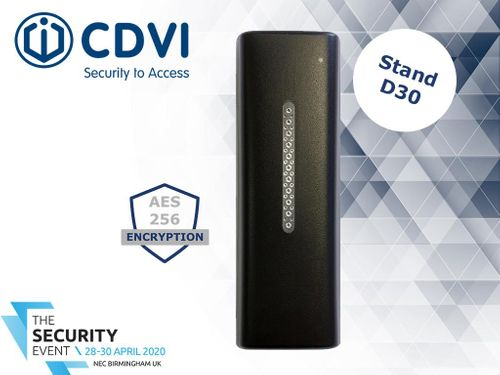 CDVI Announces Secure Bluetooth Reader